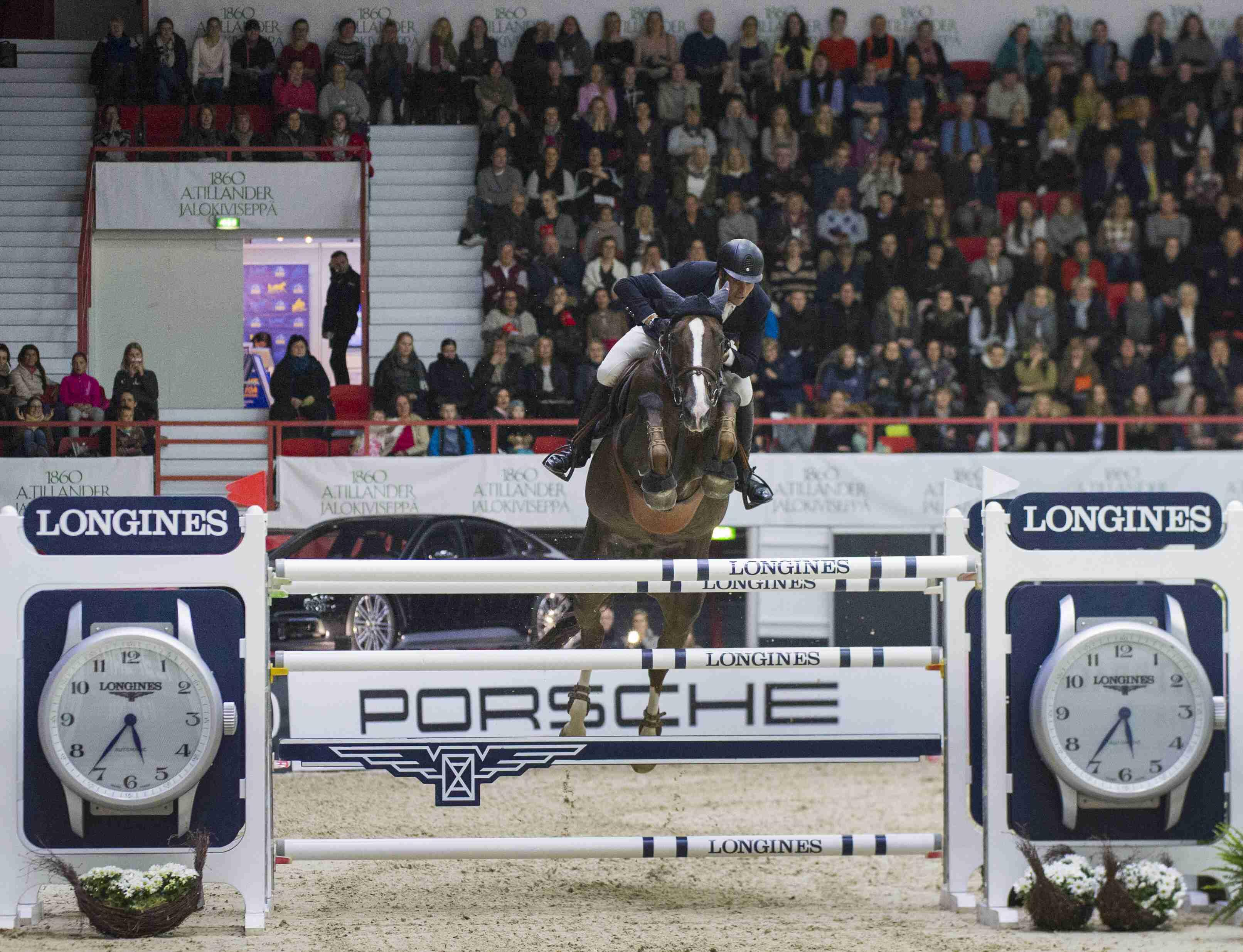 Quorida & Duguet make it a double of Longines wins at Helsinki