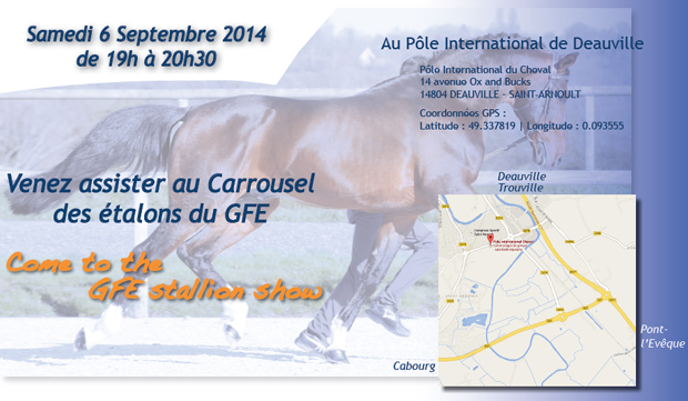 The GFE invites the world of breeding to Deauville