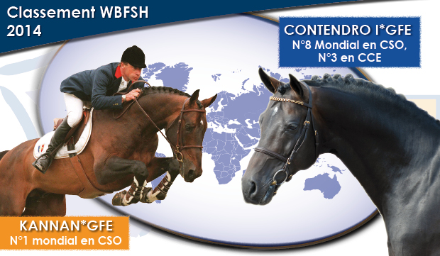 Kannan #1 World stallion Ranking, Contendro #8 @ PSV Morel
